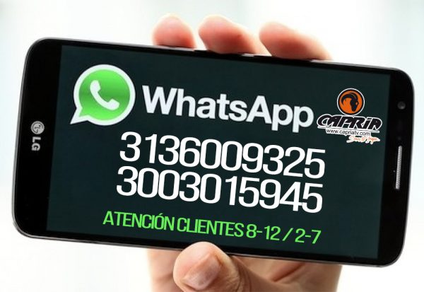 contacto whatsapp capriatv