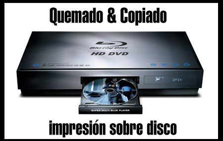 transfer bluray a dvd cali