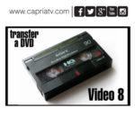 transfer de video 8 a dvd cali