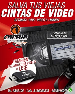 pasamos vhs betamax video 8 minidv a dvd