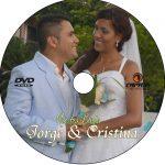 impresión disco dvd boda