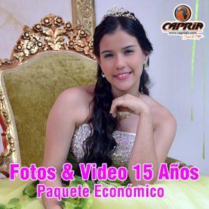 FOTOS Y VIDEO 15 AÑOS CALI