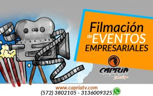 filmación vídeo empresa cali