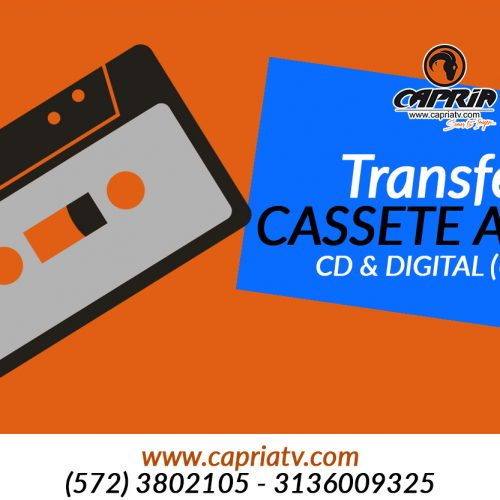transfer de CASSETE DE AUDIO a cd