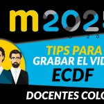 tIPS PARA GRABAR VIDEO ECDF