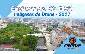 imagenes drone boulevar del rio cali