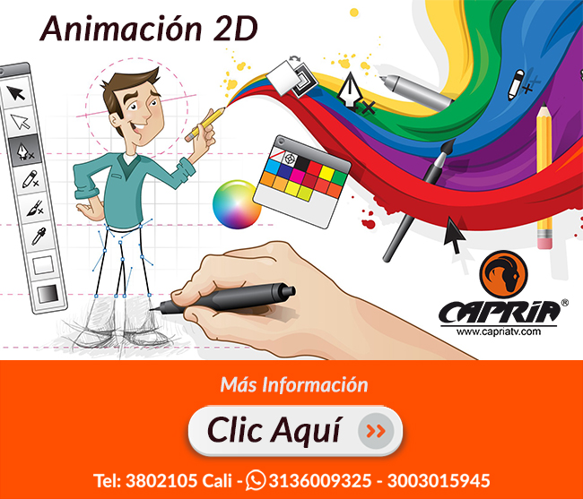 Animacion Flash Animate 2D Cali