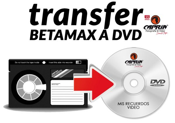 Transfer de betamax a dvd cali