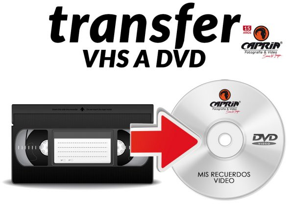 Transfer de Vhs a DVD cali