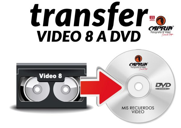 Transfer de Video 8 a DVD cali