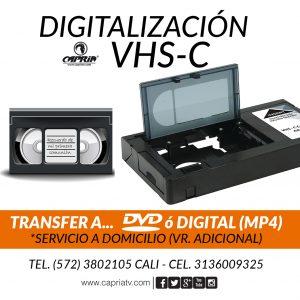 CONVERSION VHSC A DVD