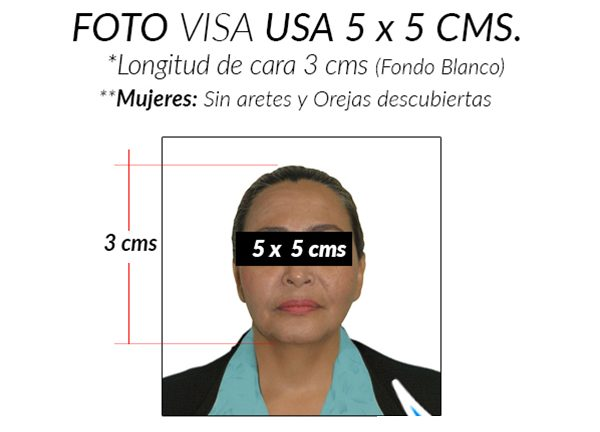 foto documento para visa usa