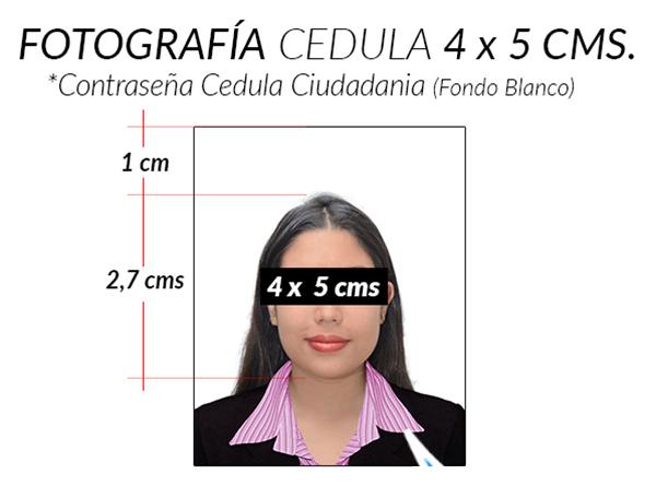 fotodocumento para Cedula cali