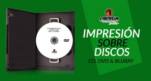 IMPRESION SOBRE DISCO CD DVD BLURAY 2