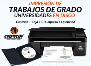 impresion trabajo grado universidades cd