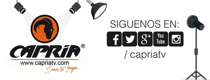 REDES SOCIALES CAPRIA TV
