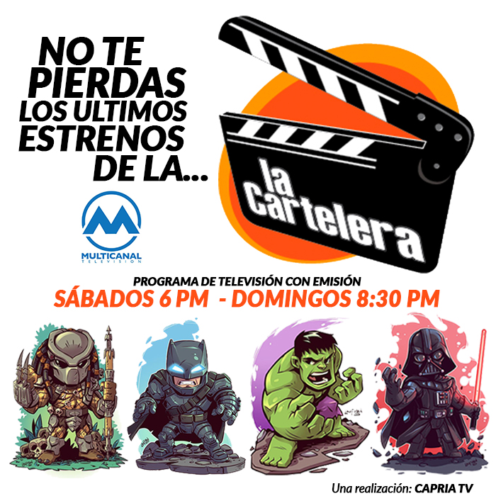 PROGRAMA DE TELEVISION LA CARTELERA CALI