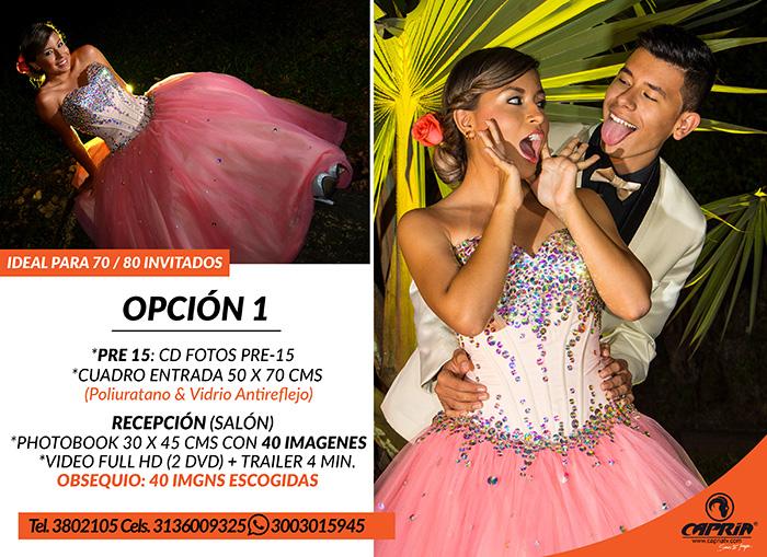 PAQUETES FOTOS 15 AÑOS CALI