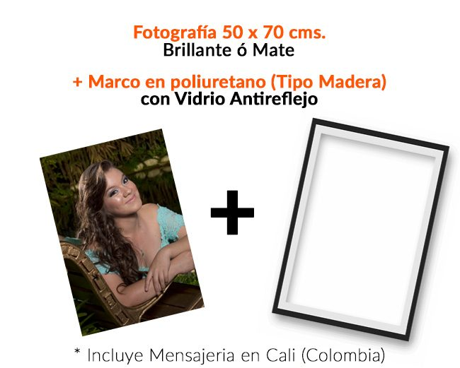 precio foto 50x70cm