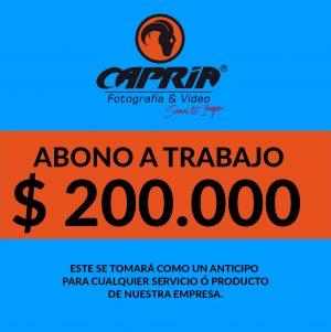 ABONO TIENDA VIRTUAL 200 mil