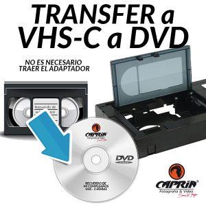 Transfer VHSC a DVD Cali