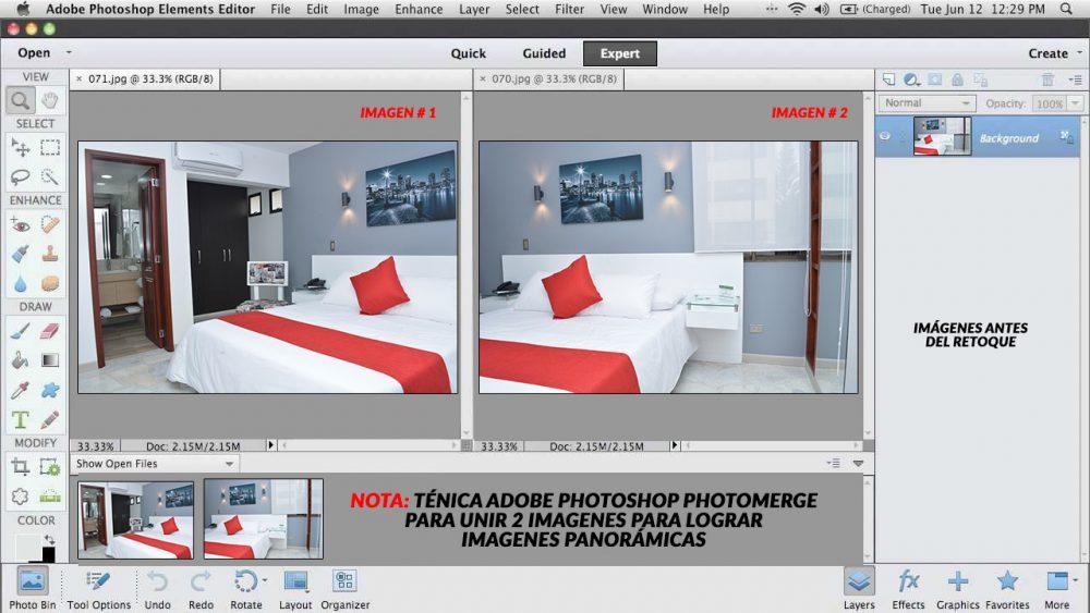 fotografia para habitaciones en cali