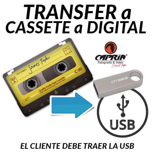 Transfer CASSETE a USB Cali