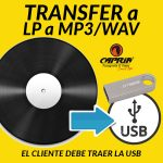 Transfer LP a USB Cali