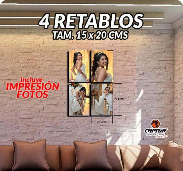 Impresion Retablos 15x20 Cali