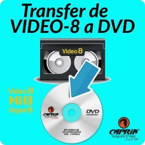 Transfer VIDEO8 a DVD cali