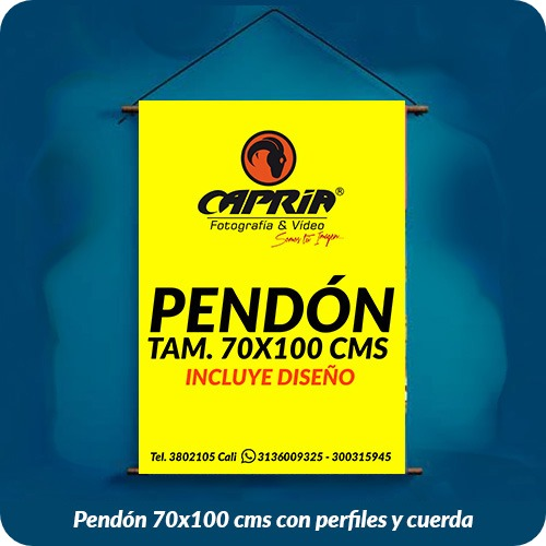 Venta de Pendon 70x100 cali