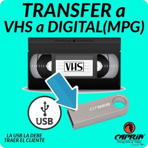 Transfer VHS a DIGITAL Cali