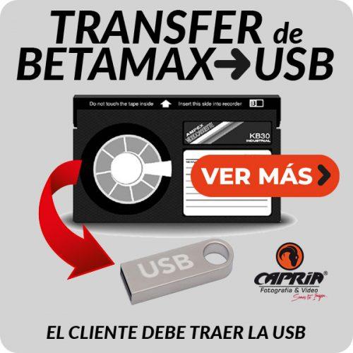 Boton Transfer BETAMAX A USB JPG