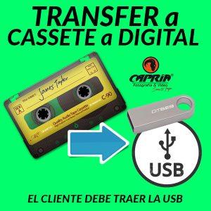 Transfer CASSETE a CD Cali