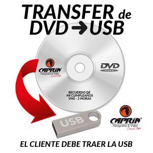 Transfer DVD A USB Cali
