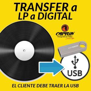 Transfer LP a USB Cali