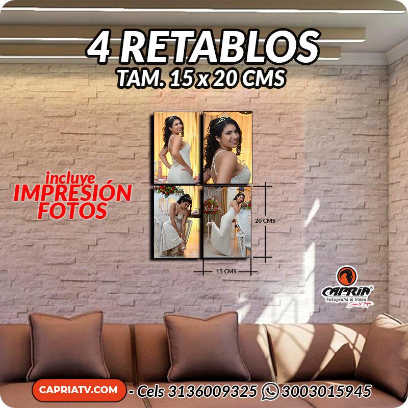 Venta Retablos Cali 15x20 R