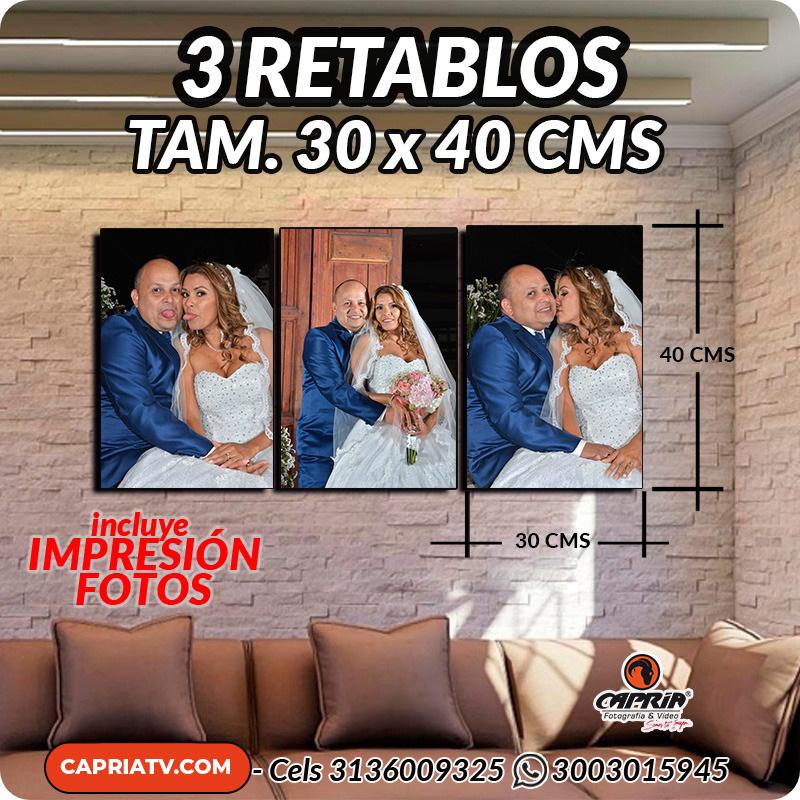 venta Retablos cali 30X40 R