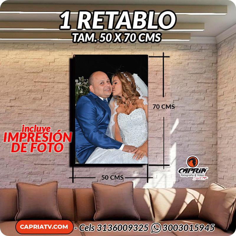 Venta Retablos cali 50X70 R
