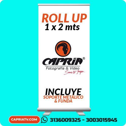 RollUp 1x2 mts Cali